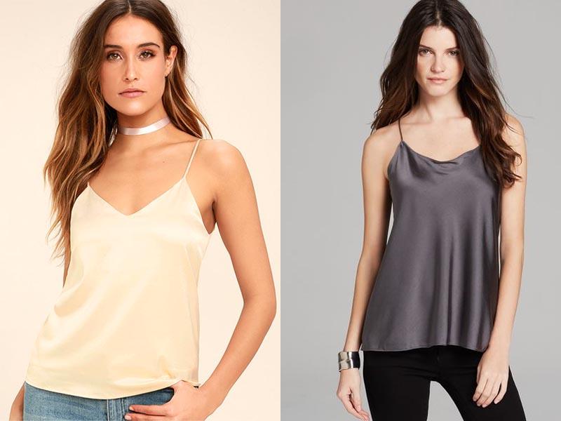Silk Tank Tops Online Today